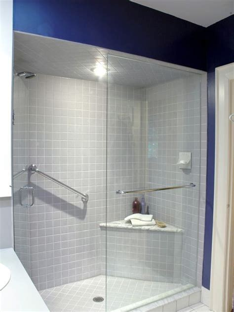 shower with seat shower seat houzz