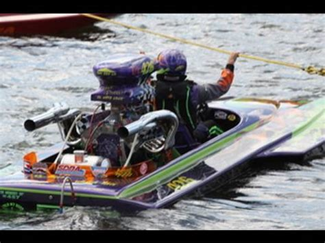 Drag Boat Racing Start by Drag Boat Engine Cold Start Loud