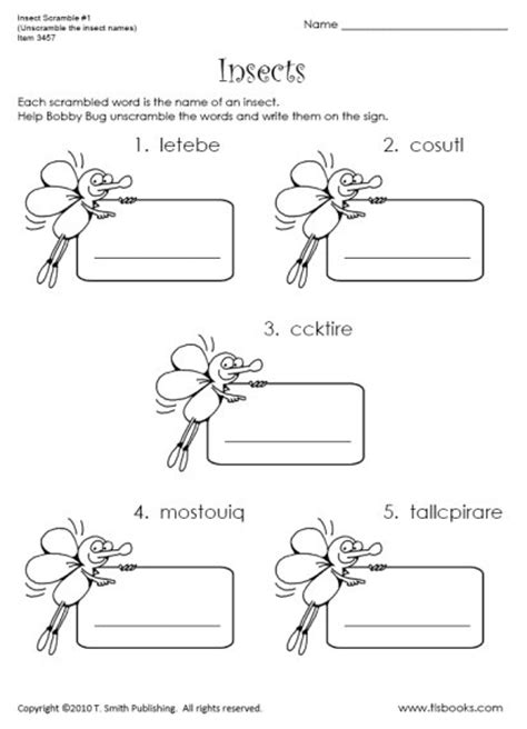 9 best images of bug and insect worksheets bug and insect preschool worksheets yellow jacket