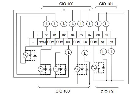 programmable logic how to wire the output of a plc