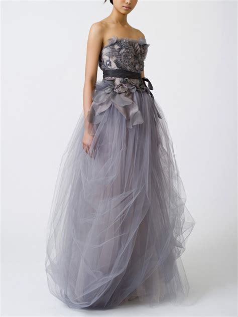 Colorful Wedding And Bridesmaid Gowns Silver Inspiration