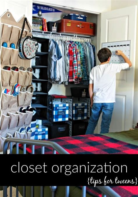 Closet Organization Tips For Tweens Our Fifth House