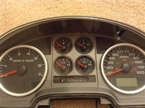 fs fxfx cluster instrument panel ford  forum