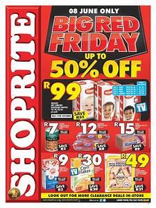 #BigRedFriday: Gauteng Shoprite Big Red Friday Is Back 50% ...
