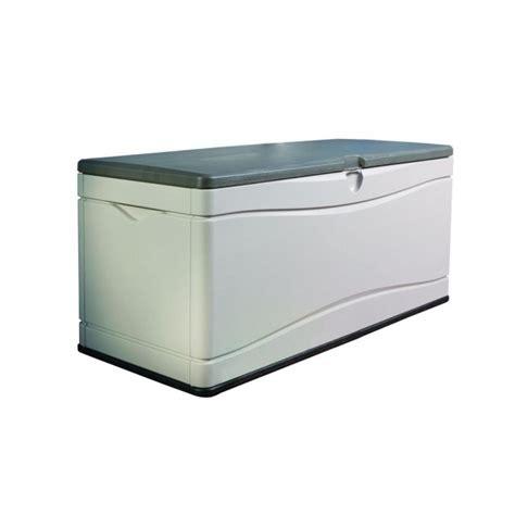 lifetime 130 gallon polyethylene outdoor deck box marvelous lifetime 130 gal polyethylene outdoor deck box