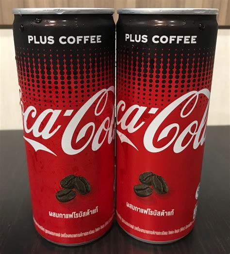 Drip coffee has 18.13 mg of caffiene per ounce on average (coffee can vary quite a bit). Coca-Cola Coke Plus Coffee Review availble in Singapore - Yuupz