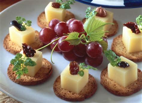 canape hors d oeuvres canapés with gouda cheese recipe dairy goodness