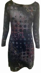 Nally Millie Circles Within Squares Dress