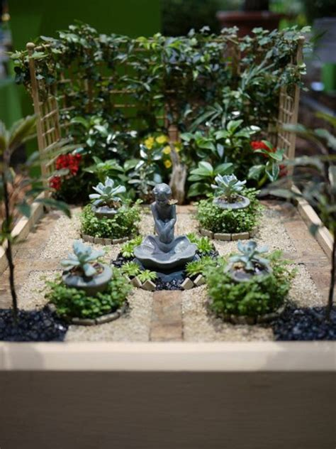mini zen garden create  mini oasis  home fresh