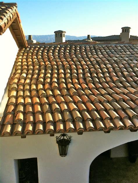 serpentine confetti roof tiles mexican hacienda