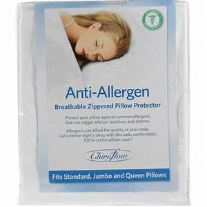 chiroflow chiroflow anti allergen cover ebay With anti allergy pillow cases