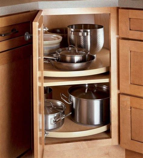 Blind Corner Base Cabinet Solutions by How To Deal With The Blind Corner Kitchen Cabinet Live
