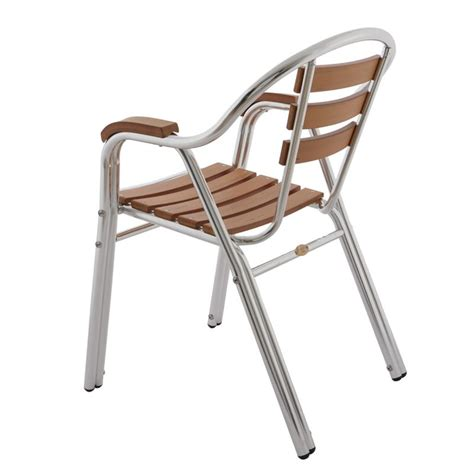 chaise bistrot alu chaise de terrasse de restaurant fauteuil de terrasse