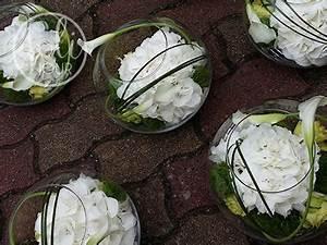 Fleurs Pas Cher Mariage : grand vase aquarium centres de table hortensias et fleurs vertes mariage id es wedding ~ Nature-et-papiers.com Idées de Décoration