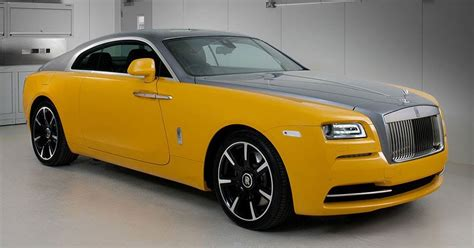 yellow rolls royce yellow rolls royce wraith a ghost resurrected lux pursuits