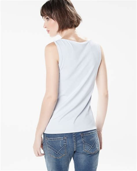 Boat Neck by Boat Neck Tank Top Fashion Colours Rw Co