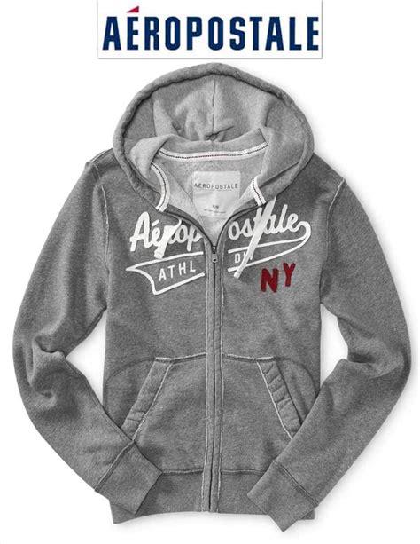 s grey zip up hoodie nwt aeropostale sweatshirt m l zip up hoodie jacket blue