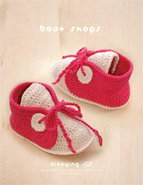 Baby Boat Shoes by Crochet Pattern Baby Boat Shoes Baby Crochet Sneaker
