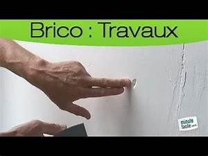 Reboucher Trou Mur Placo : comment reparer fissure mur placo la r ponse est sur ~ Melissatoandfro.com Idées de Décoration