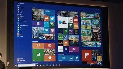 Windows Screen Start Desktop Microsoft Center Touch