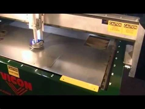 new vicon hvac 510 plasma cutting table youtube