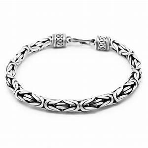 Bracelet En Argent Homme : bracelet en argent pour homme ~ Carolinahurricanesstore.com Idées de Décoration