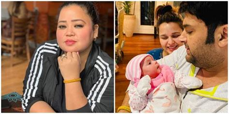 Bharti Singh Reveals she was the first one to hold Kapil ...