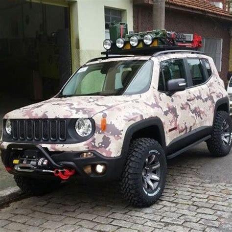 heavily modified jeep renegade car prn pinterest