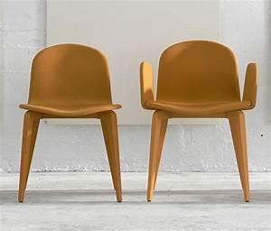 Nouveau chaise et fauteuil design scandinave en tissu for Fauteuil design moutarde