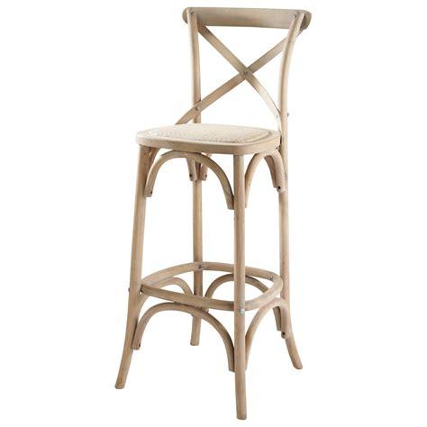 chaise rotin maison du monde chaise de bar en rotin et bois tradition maisons du monde