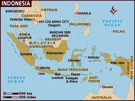 indonesia informacion  mapa