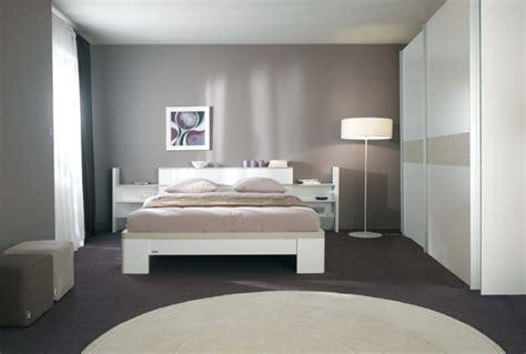 chambre ton gris couleur chambre a coucher tendance
