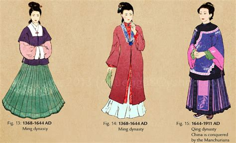 colorful chinese clothing in different nationalities 风流中国