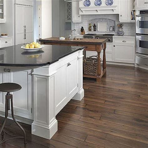 wooden flooring in kitchen favorite 22 kitchen cabinets and flooring combinations 1622