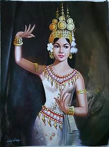 Most Beautiful Drawing in the World: Apsara in Cambodia