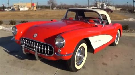 test driving 1957 chevrolet corvette fuelie 283 v8