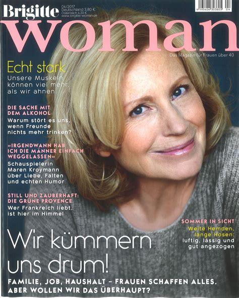 Zeitschrift Brigitte woman die Frauenzeitschrift