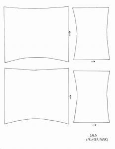 5 best images of free printable boat template simple for Pirate ship sails template