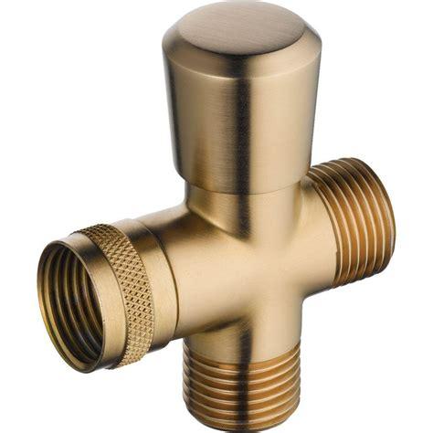 Shower Diverters by Delta 3 Way Shower Arm Diverter In Chrome U4923 Pk The