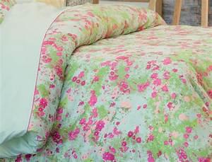 drap housse fleurs des champs linvosges With tapis champ de fleurs avec housse canapé lit