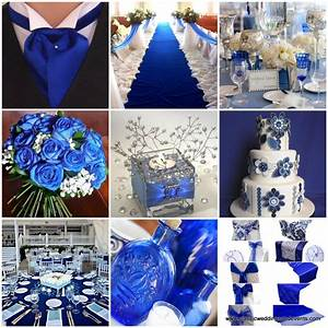 Classic weddings and events royal blue wedding ideas for Royal blue wedding ideas