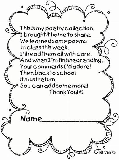 Poetry Poem Power Poems Kindergarten Bubble Letter