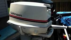 Johnson Outboard Motor 25hp 1983