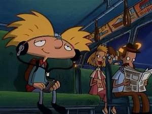 Zone Out Hey Arnold GIF
