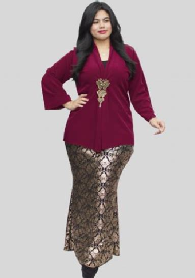 baju muslim wanita gemuk pendek model kebaya untuk wanita gemuk paling populer info