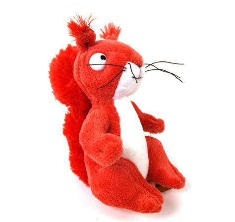 Gruffalo Squirrel Soft Toy   Pink Cat Shop