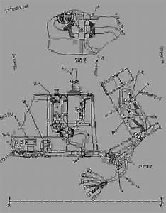 1148619 Wiring Group-cab - Paving Compactor Caterpillar Cs-563
