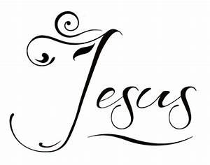 Jesus word by mrmr96 on DeviantArt
