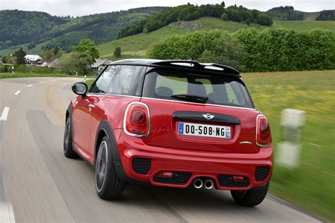mini john cooper works   chili red