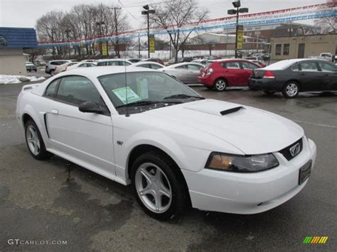 2001 ford mustang coupe oxford white 2001 ford mustang gt coupe exterior photo